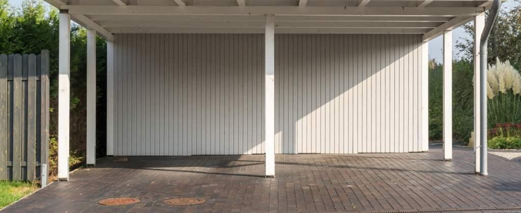 garaż blaszany dwustanowiskowy