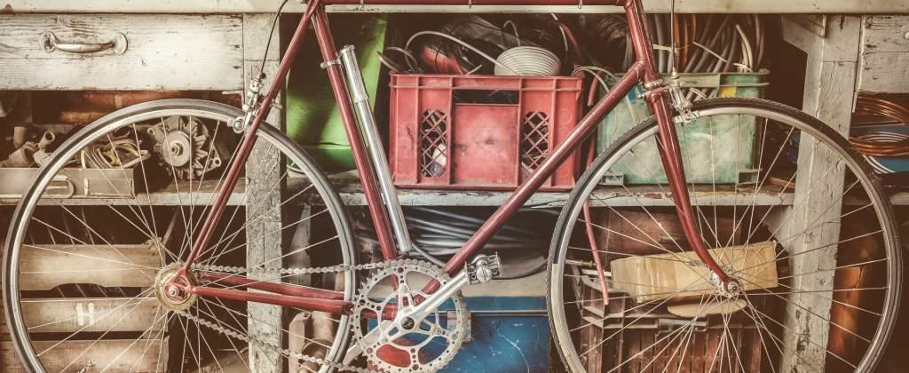 garaż na rowery