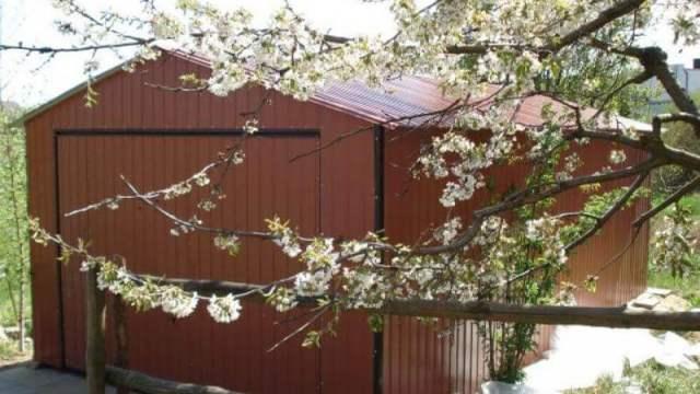 Docieplenie garażu blaszanego