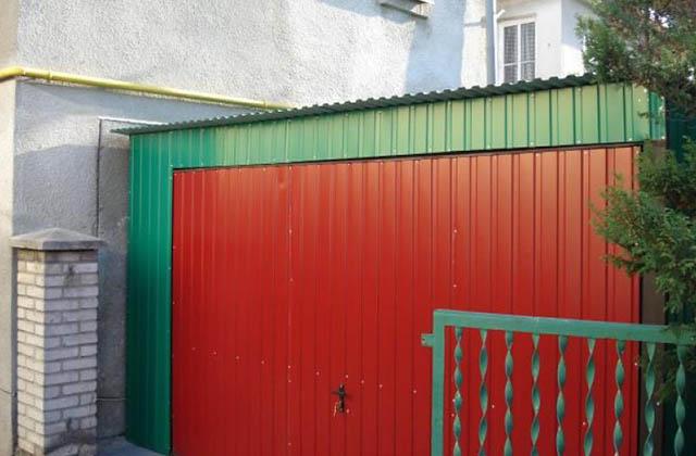 Garaż blaszany 4x6m zielony (woj. kujawsko-pomorskie)