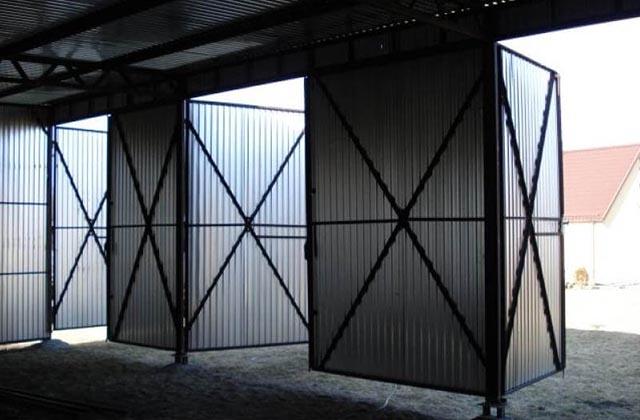 Hala metalowa 9x6m