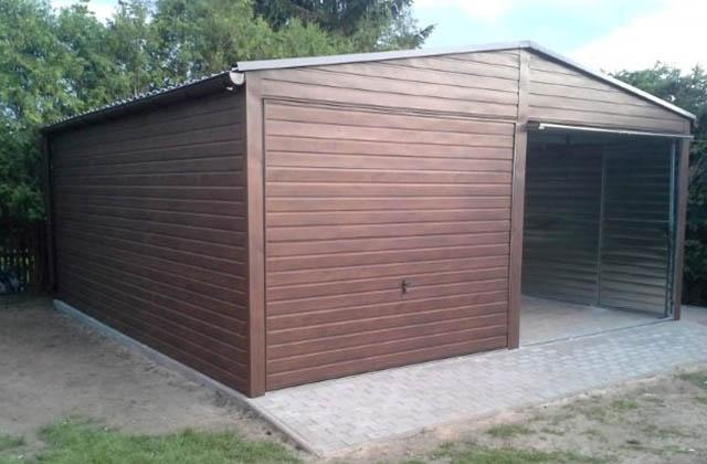 Garaż drenopodobny orzech