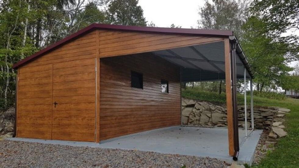 Bardzo dobry Garaż drewniany czy z blachy? Który najlepiej wybrać? - Poradniki QF83