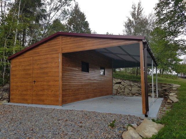 Garaż drewniany czy z blachy? Który najlepiej wybrać?