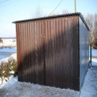 Garaż blaszany 3x5m