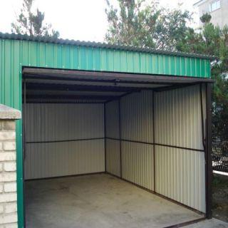 Garaż blaszany 4x6m