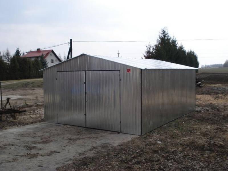 Garaż Metalowy Blaszany Dwuspadowy 4x6m Go Stal
