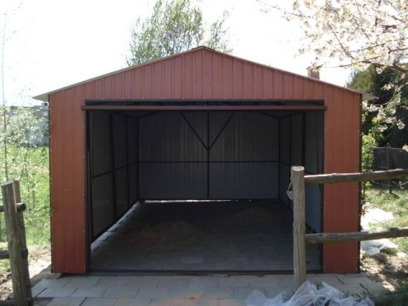 Garaż Blaszany 35x6m Go Stal