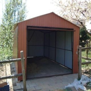 Garaż blaszany 3,5x6m