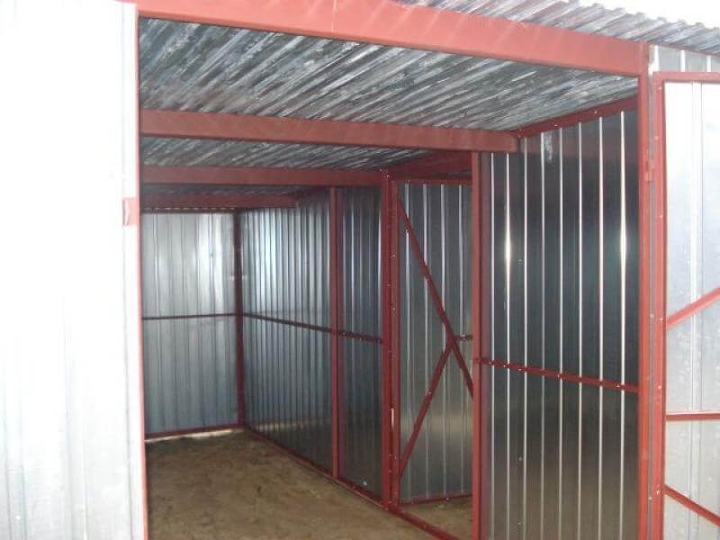Garaż Blaszany 6x5m Go Stal