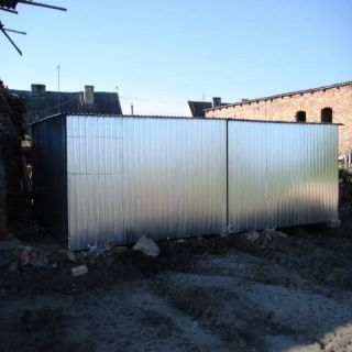 Garaż blaszany 7x6m
