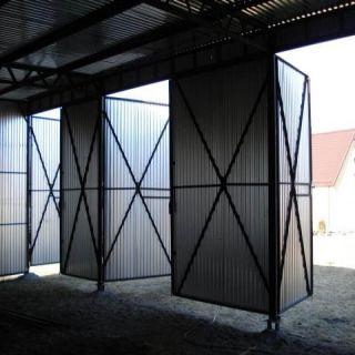 Garaż blaszany 9x6m