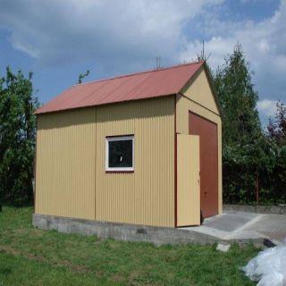 Garaż blaszany 4,5x8m