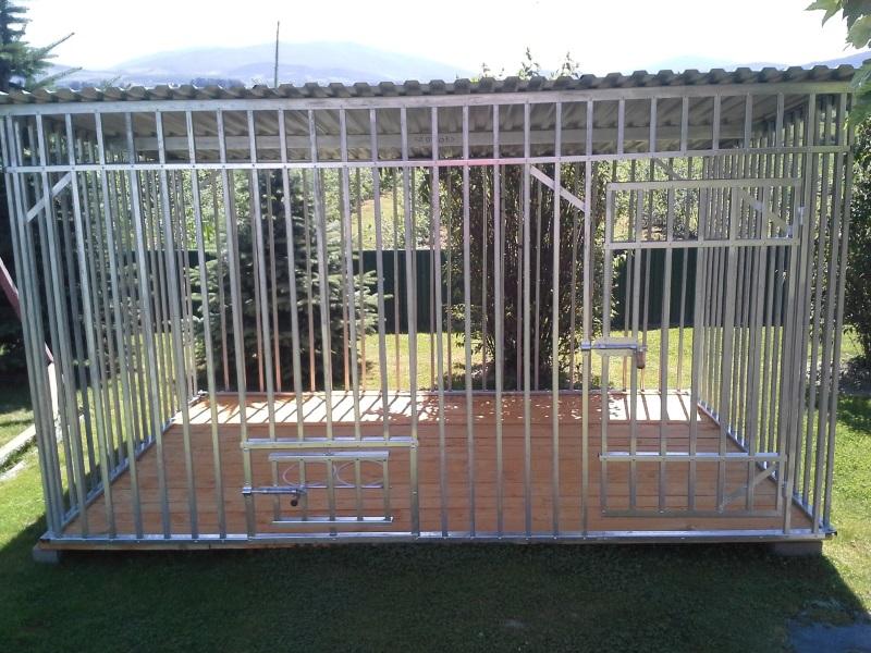 Cudowna Kojec dla psa stalowy - Go-Stal HQ77